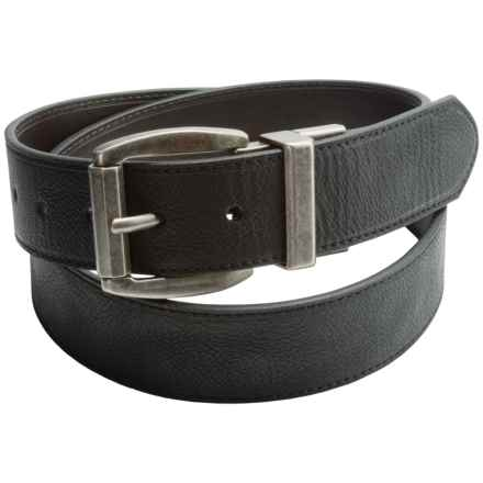 Wolverine Reversible Leather Belt (For Men) in Black/Brown - Closeouts