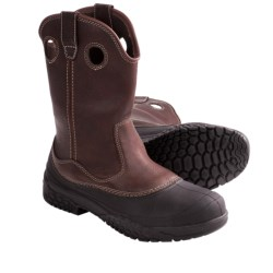 Wolverine Rival SwampMonster ST Work Boots - Steel Toe (For Men) in Dark Brown