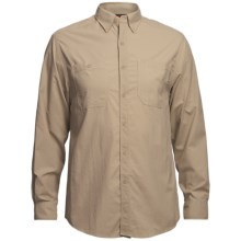Wolverine Scout Shirt - UPF 30, Nylon Ripstop, Long Sleeve (For Men) in Khaki - Closeouts