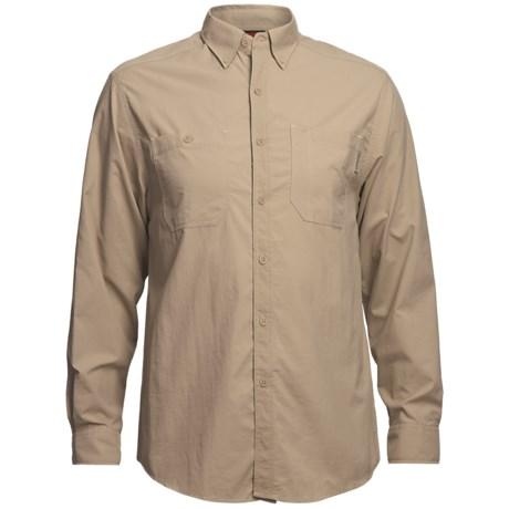 Wolverine Scout Shirt - UPF 30, Nylon Ripstop, Long Sleeve (For Men) in Khaki