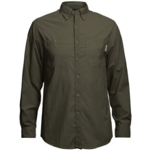 Wolverine Scout Shirt - UPF 30, Nylon Ripstop, Long Sleeve (For Men) in Olive - Closeouts