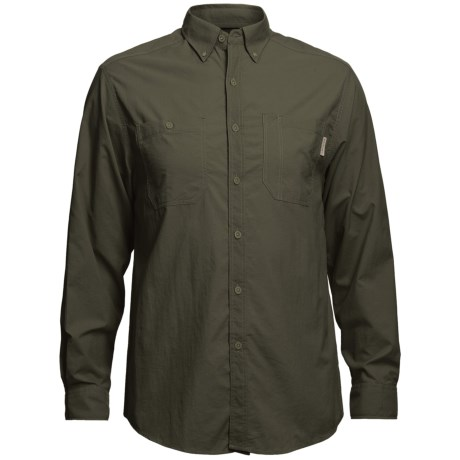 Wolverine Scout Shirt - UPF 30, Nylon Ripstop, Long Sleeve (For Men) in Olive