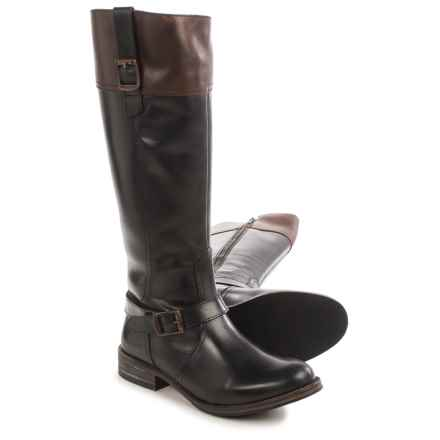 Wolverine Shannon Riding Boots - Leather (For Women) in Black - Closeouts