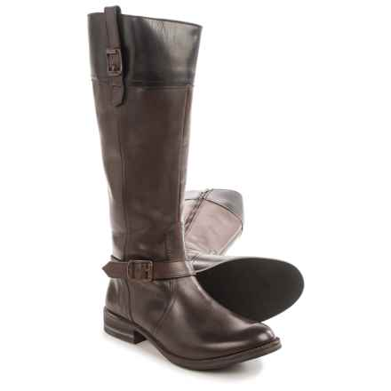 Wolverine Shannon Riding Boots - Leather (For Women) in Dark Brown - Closeouts