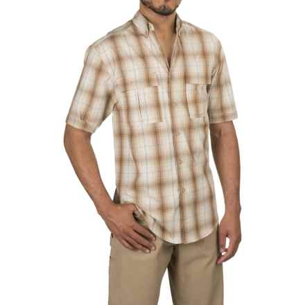Wolverine Trailhead Shirt - Short Sleeve (For Men) in Chestnut - Overstock