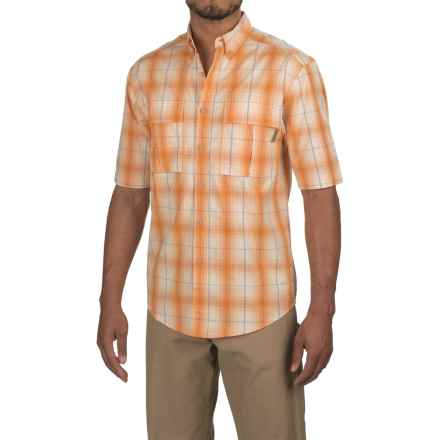 Wolverine Trailhead Shirt - Short Sleeve (For Men) in Tangerine - Overstock