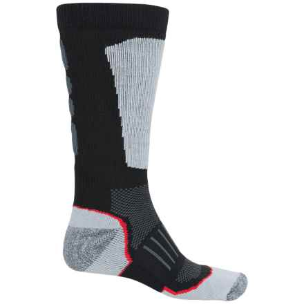 Wolverine Ultimate Safety Toe Boot Socks - Mid Calf (For Men) in Black/Grey - Closeouts