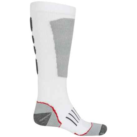 Wolverine Ultimate Safety Toe Boot Socks - Mid Calf (For Men) in White/Grey - Closeouts