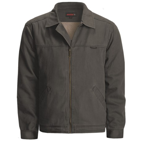 Wolverine Upland Attendant Jacket - Cotton Twill, Sherpa Lined (For Men)