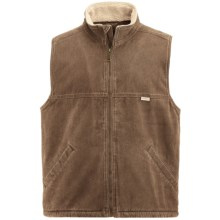 Wolverine Upland Vest - Sherpa Lining (For Men) in Hickory - Closeouts
