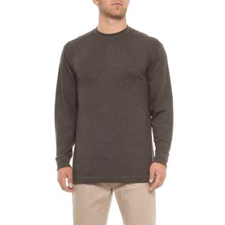 Wolverine Walden Shirt - Long Sleeve (For Men) in Bison - Closeouts