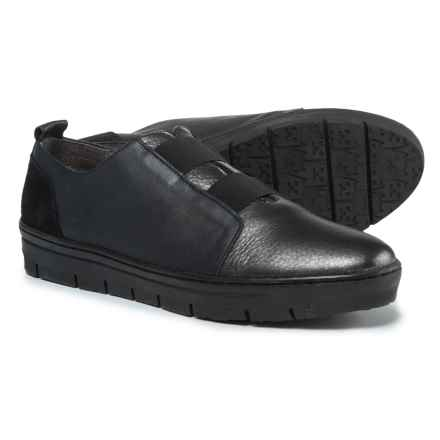 Wonders Double Gore Shoes - Leather (For Women) in Lead - Closeouts