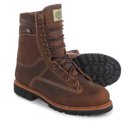 Wood N' Stream Navigator Thinsulate® Hunting Boots - Waterproof, Insulated (For Men) in Brown Crazy Horse - Closeouts
