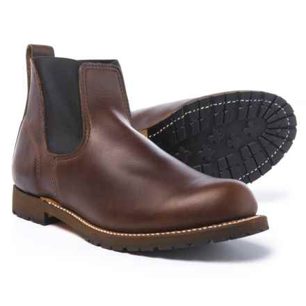 Wood N' Stream Wood N' Stream American Classic Romeo Boots - Leather, Slip-Ons (For Men) in Brown - Closeouts