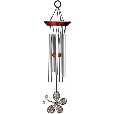 """Woodstock Chimes Encore Collection Winged Wind Chime - 15"""" in Butterfly"""
