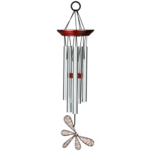 "Woodstock Chimes Encore Collection Winged Wind Chime - 15"" in Dragonfly - Closeouts"
