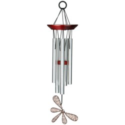 "Woodstock Chimes Encore Collection Winged Wind Chime - 15"" in Butterfly"