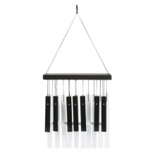 "Woodstock Chimes Fur Elise Piano Chime - 24"" in Black / White - Overstock"