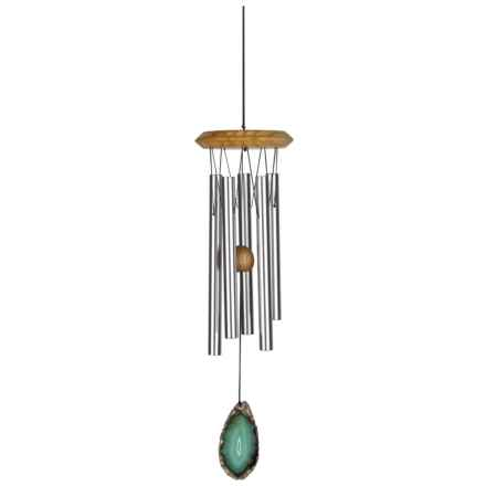 Woodstock Chimes Green Agate Chime in Green - Closeouts