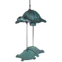 Woodstock Chimes Habitats Turtle Windbell in See Photo - Closeouts