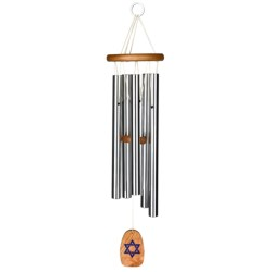"Woodstock Chimes Klezmer Wind Chimes - 24"" in See Photo"