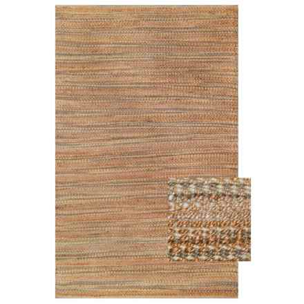Woodstock Chunky Woven Jute Accent Rug - 3x5' in Natural/Linen - Closeouts
