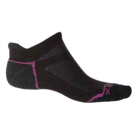 Woolmax Endurance Pro No-Show Socks - Merino Wool, Below the Ankle (For Women) in Black - Closeouts