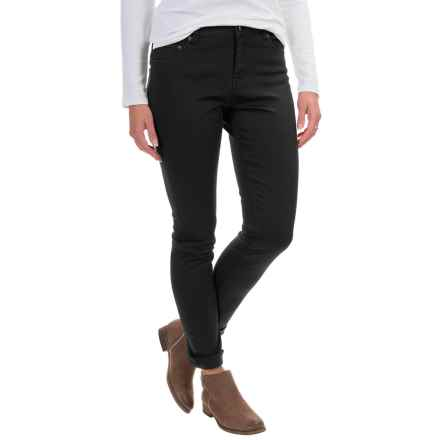 Woolrich 1830 Denim Jeans - Slim Fit (For Women) in Black - Closeouts