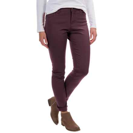 Woolrich 1830 Denim Jeans - Slim Fit (For Women) in Burgundy - Closeouts