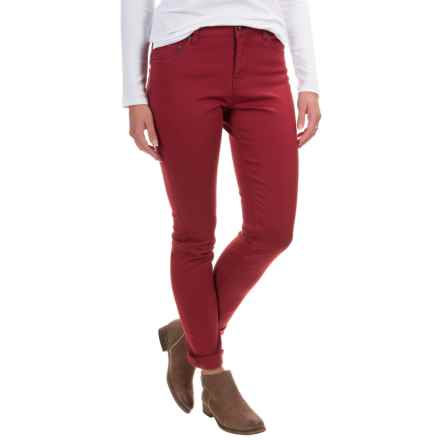 Woolrich 1830 Denim Jeans - Slim Fit (For Women) in Deep Ruby - Closeouts