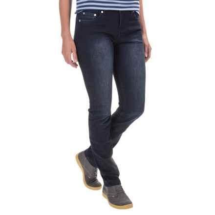 Woolrich 1830 Heritage Denim Jeans - Slim Fit (For Women) in Dark Wash - Closeouts