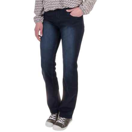 Woolrich 1830 Heritage Denim Straight Jeans - Slim Fit, Straight Leg (For Women) in Dark Wash - Closeouts