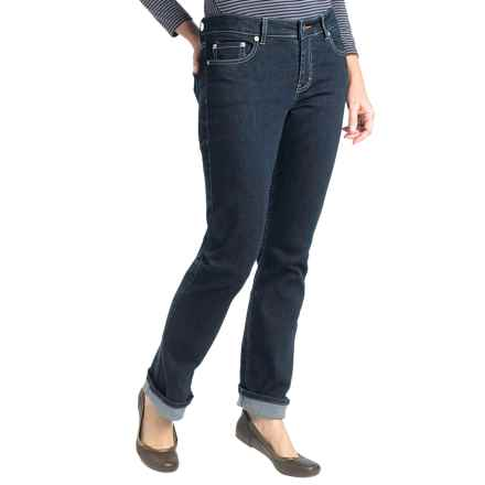 Woolrich 1830 Jeans -Straight Leg (For Women) in Rinse - Closeouts