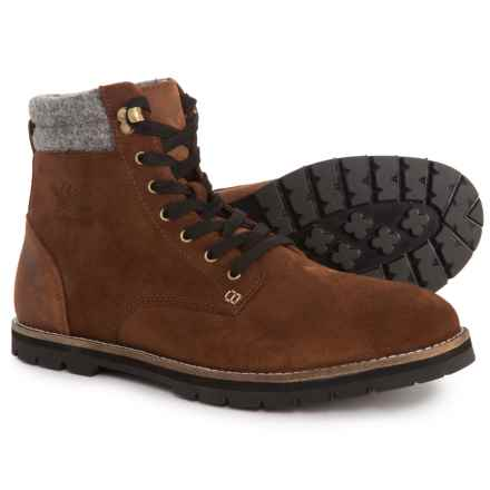 Woolrich 1830 Uncharted Boots - Suede (For Men) in Brown - Closeouts