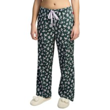 Woolrich 300 Park Printed Lounge Pants - Flannel (For Women) in Blue Fir Floral - Closeouts