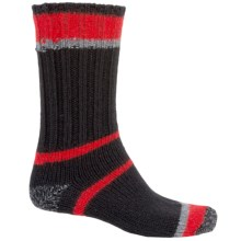 Woolrich Accent Ragg Socks - Merino Wool Blend, Crew (For Men) in Black - Closeouts