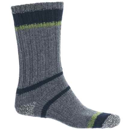 Woolrich Accent Ragg Socks - Merino Wool Blend, Crew (For Men) in Charcoal - Closeouts