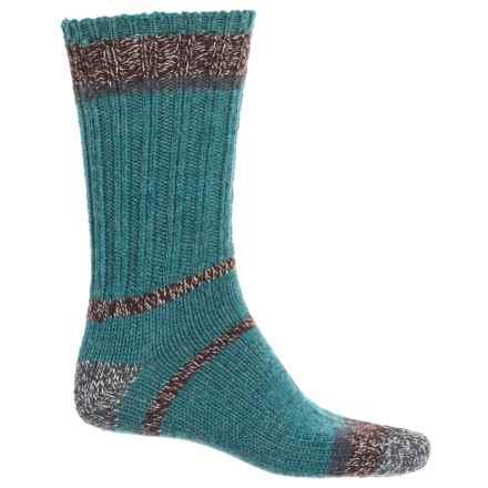 Woolrich Accent Ragg Socks - Merino Wool Blend, Crew (For Men) in Dew Drop - Closeouts