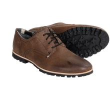 Woolrich Adams Leather Oxford Shoes (For Men) in Java - Closeouts