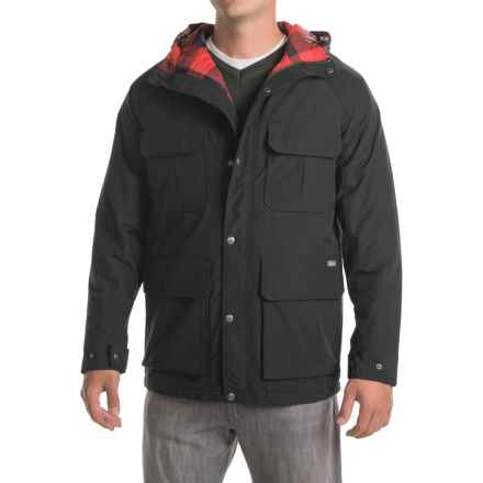 Woolrich Advisory Mountain Parka - Insulated (For Men) in Black - Closeouts