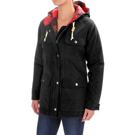 Woolrich Advisory Mountain Parka - Insulated (For Women) in Black - Closeouts