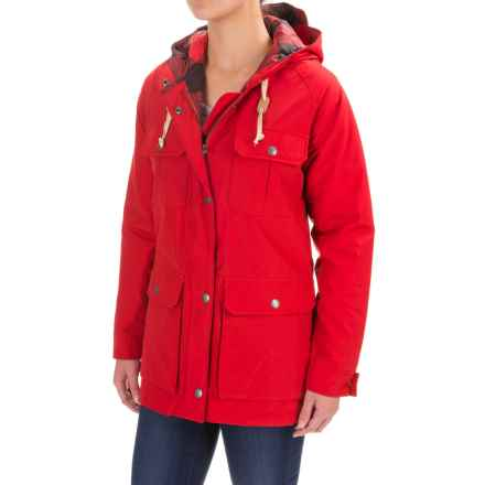 Woolrich Advisory Mountain Parka - Insulated (For Women) in Old Red - Closeouts
