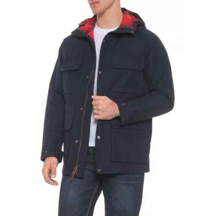 Woolrich Advisory Wool Mountain Parka - Insulated (For Men) in Deep Navy - Overstock