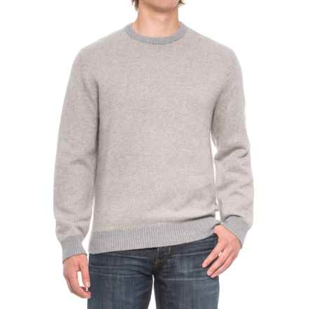 Woolrich Alaskan Twill Sweater - Cotton Blend, Crew Neck (For Men) in Steel Gray Heather - Closeouts