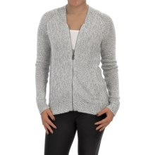 Woolrich Alpine Ascent Bomber Sweater - Zip Front (For Women) in White - Closeouts