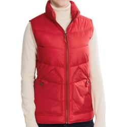 Woolrich Alpine Duck Down Vest (For Women) in Old Red