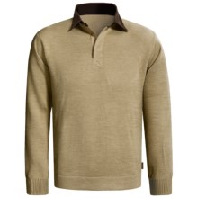 Woolrich Alpine Valley Henley Sweater (For Men) in Khaki Heather - Closeouts