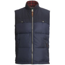 Woolrich Altitude Down Vest - 550 Fill Power (For Men) in Deep Navy - Closeouts