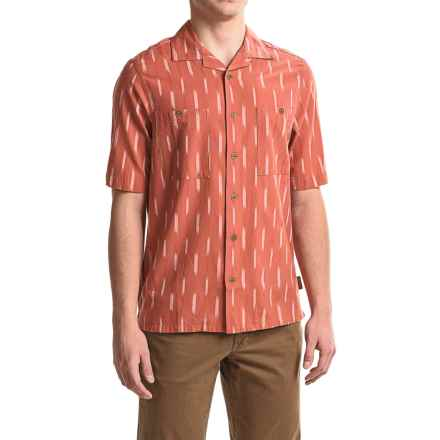 Woolrich Altitude Shirt - Short Sleeve (For Men) in Chili - Closeouts