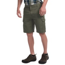 Woolrich Amblewood Cargo Shorts (For Men) in Olive - Closeouts